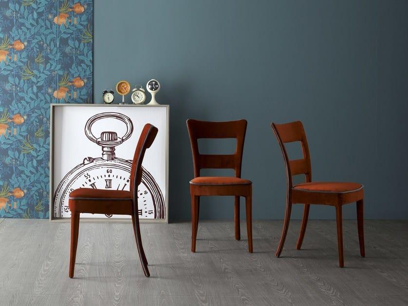 Upholstered fabric chair SHERYL by Bonaldo