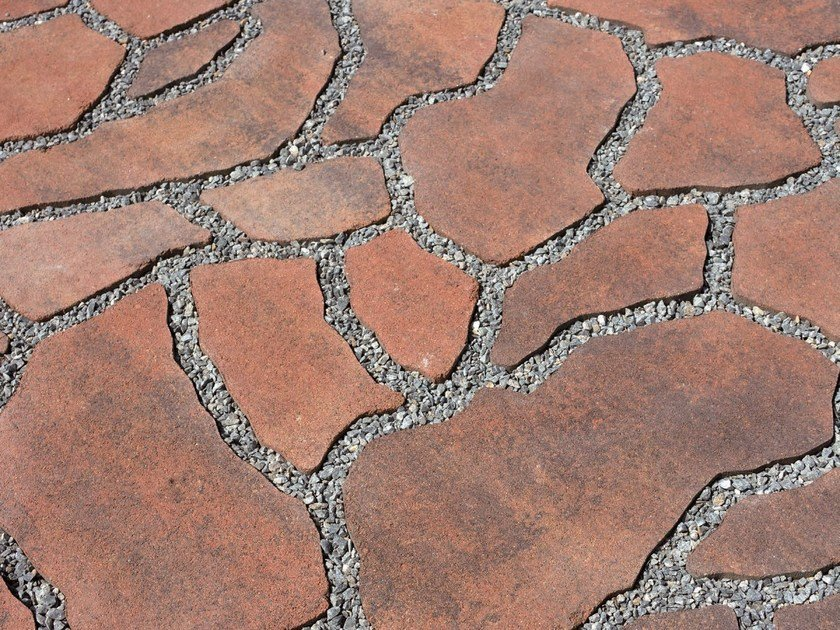 Concrete paving block OPUS by PAVESMAC
