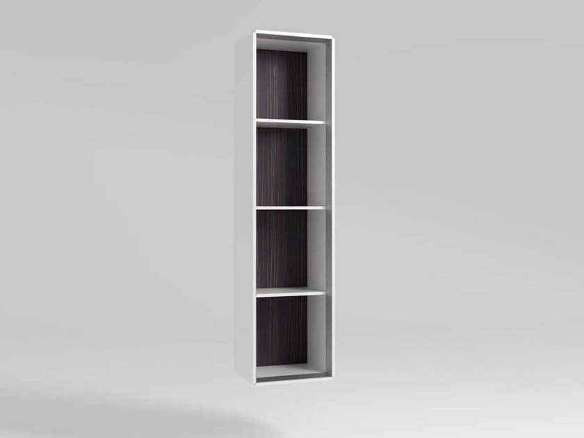 Open wooden office shelving CEO   Open office shelving by MASCAGNI