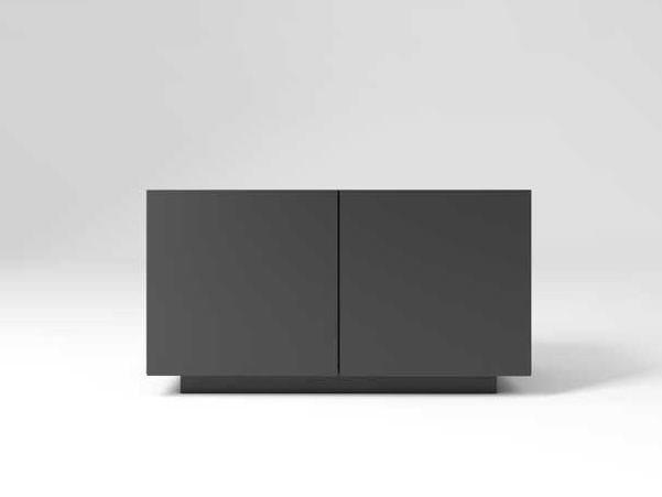 Wooden office storage unit MAST | Office storage unit by MASCAGNI