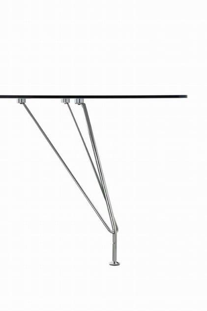MEETING Tavolo da riunioni - Particolare piede in acciaio