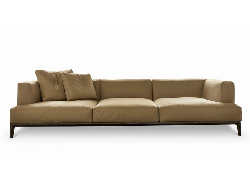 Sectional leather sofa SWING by ALIVAR