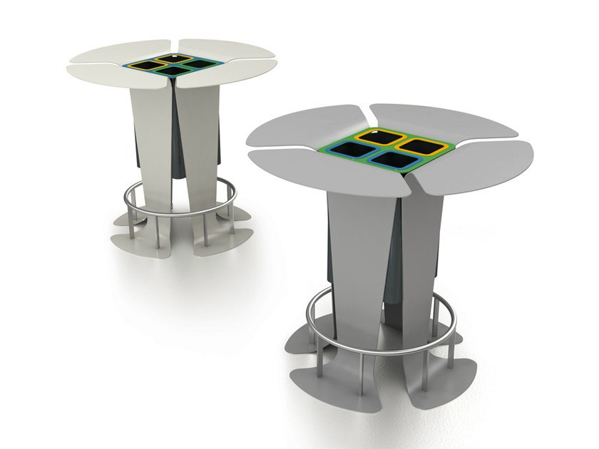 Table for public areas / ashtray LINO by LAB23 Gibillero Design