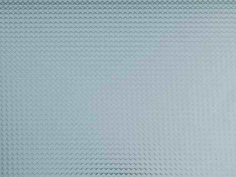 Stainless steel sheet with lozenge pattern finish UGINOX LOZENGE by Aperam