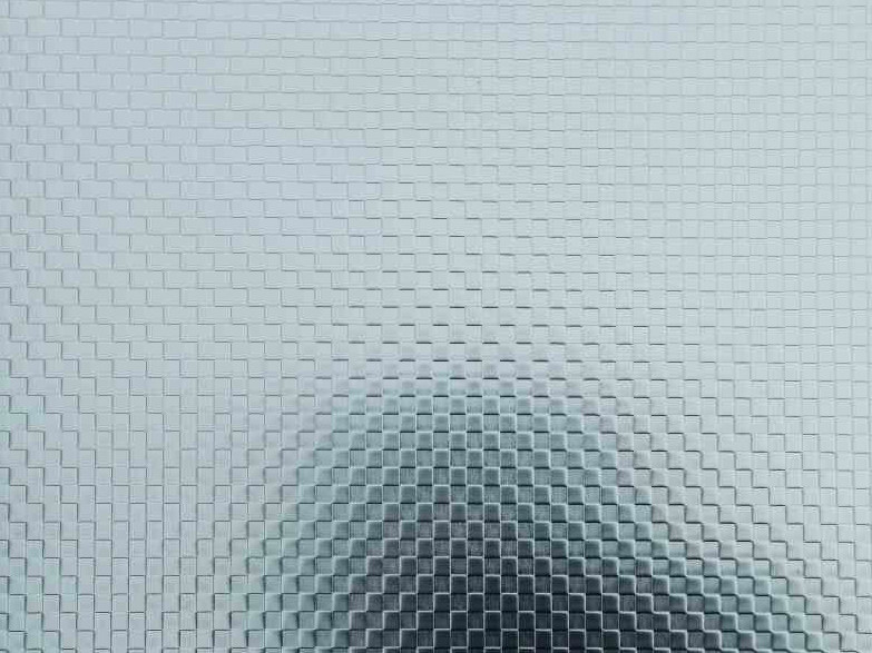 Stainless steel sheet with chequer pattern finish UGINOX SQUARES by Aperam