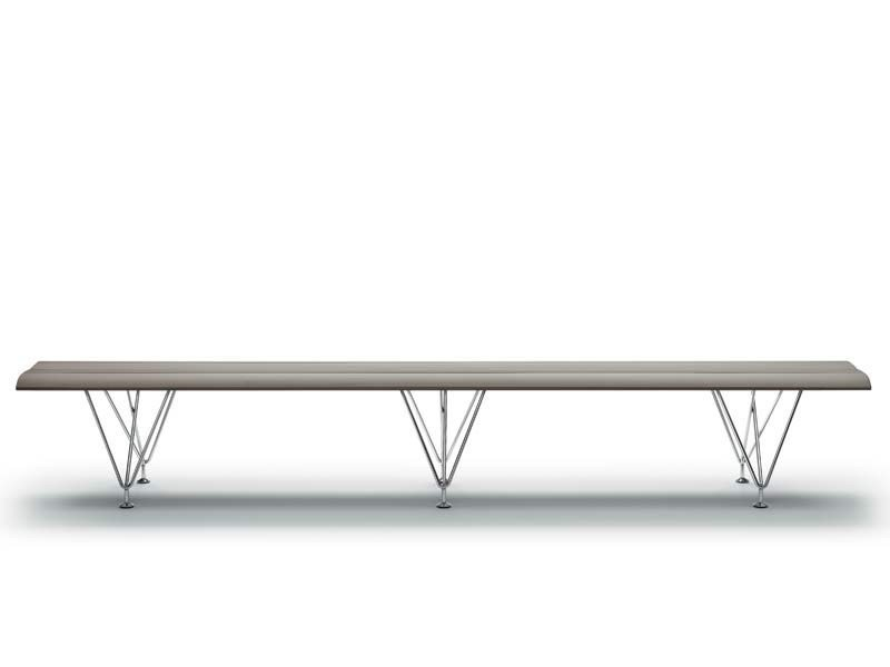 Aluminium bench seating AIRPORT | Bench seating by MASCAGNI