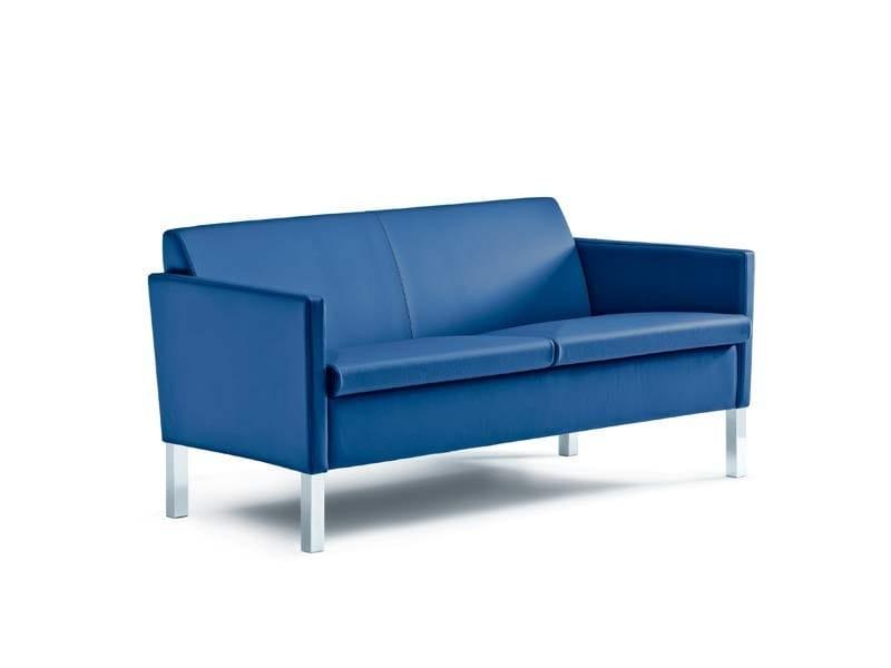 Leather sofa LOUNGE | Sofa by MASCAGNI