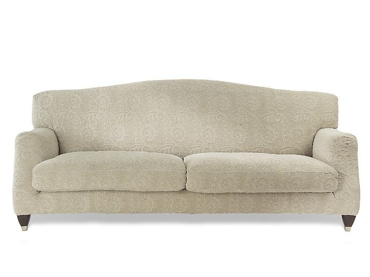 4 seater sofa with removable cover AGAVE | 4 seater sofa by MARIONI