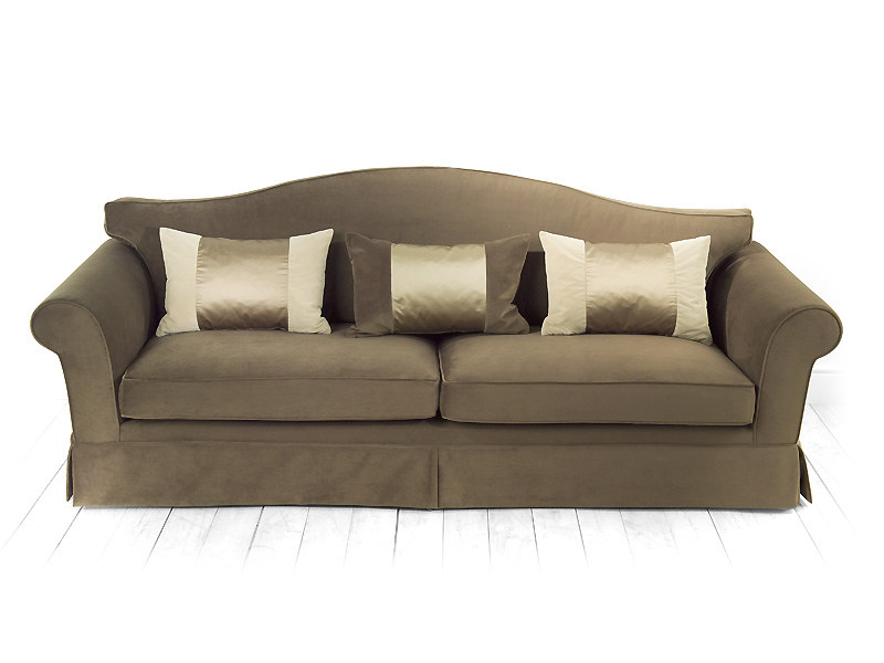 4 seater sofa with removable cover AZALEA | Sofa by MARIONI