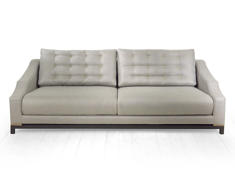 4 seater sofa with removable cover MALVA | 4 seater sofa by MARIONI