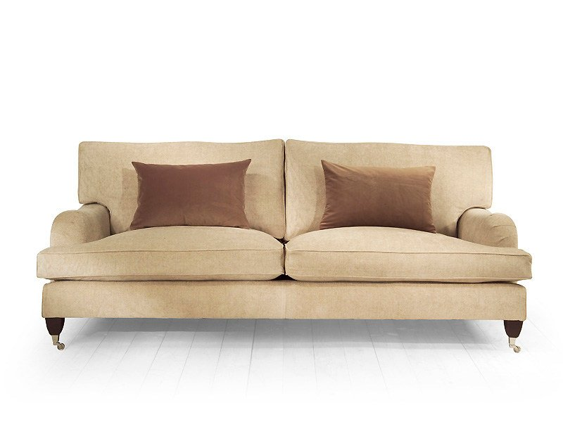 4 seater sofa with removable cover DAISY | 4 seater sofa by MARIONI