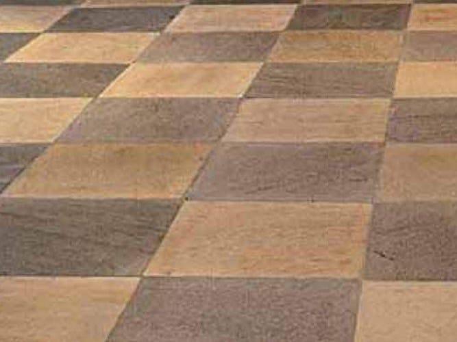 Quartzite outdoor floor tiles QUARZITE DI BARGE by PAVESMAC