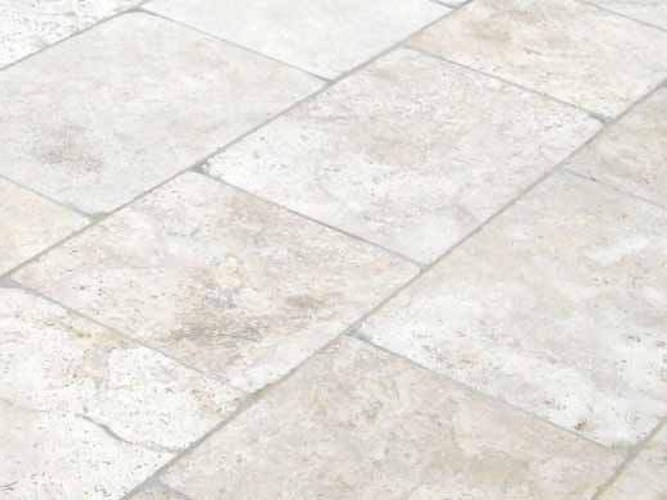 Travertine outdoor floor tiles TRAVERTINO by PAVESMAC