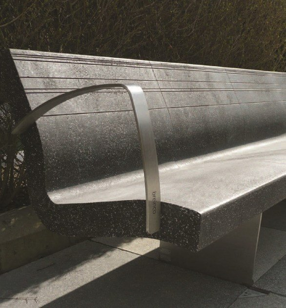 Bench with armrests LOUNGE FLY by PAVESMAC