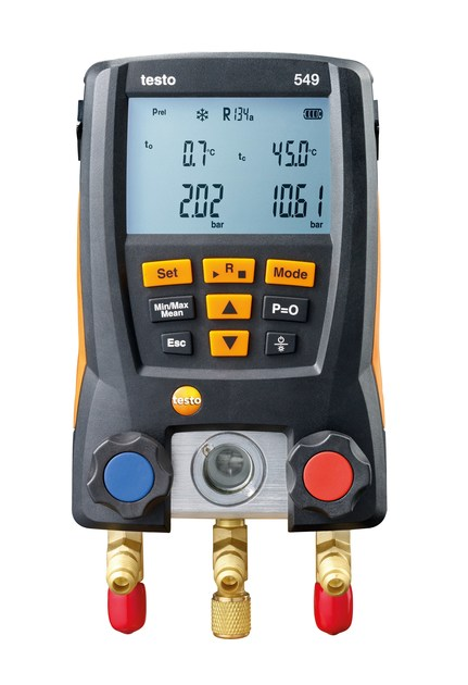 Measurement, control, thermographic and infrared instruments TESTO 549 by Testo