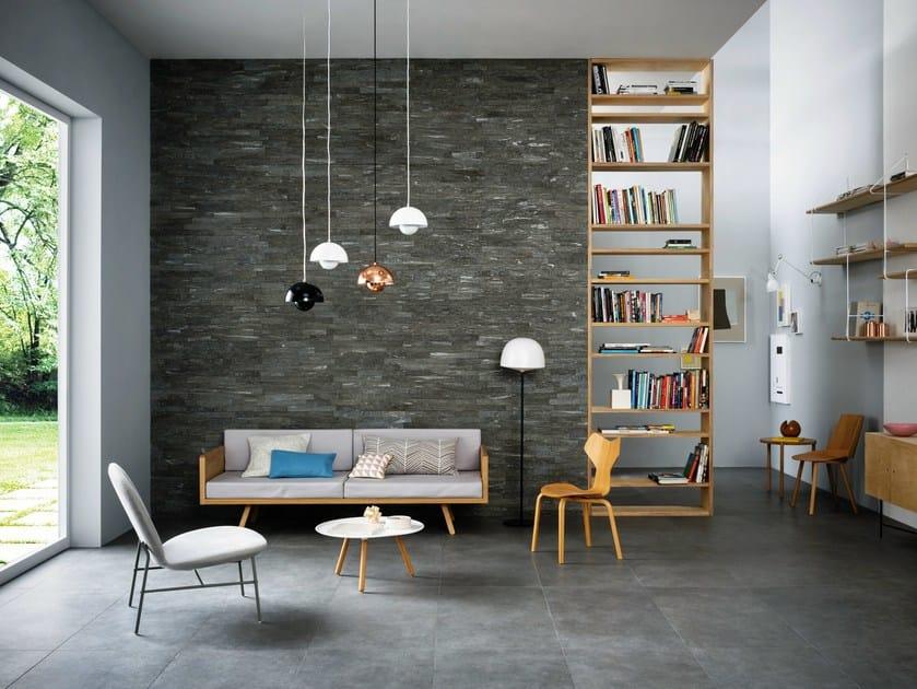 Porcelain stoneware wall/floor tiles MYSTONE SILVER STONE by MARAZZI