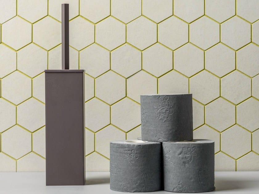 Brass toilet brush LISSOM | Toilet brush by EVER Life Design
