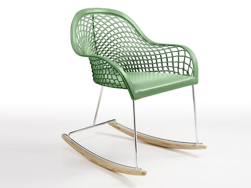 Progetto Sedia A Dondolo.Guapa Dn Sedia A Dondolo By Midj Design Franco Poli Beatriz Sempere