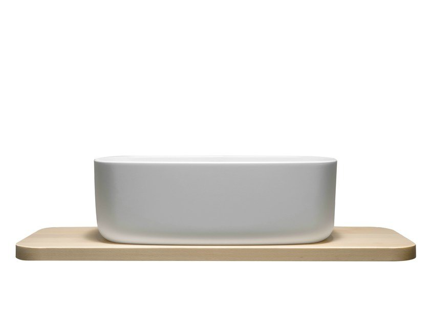 Countertop single washbasin BOUNCE COUNTER by EVER Life Design