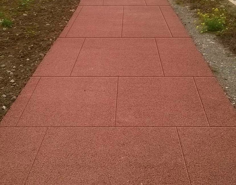 Cement Based Materials Outdoor Floor Tiles ACQUA DRENAR