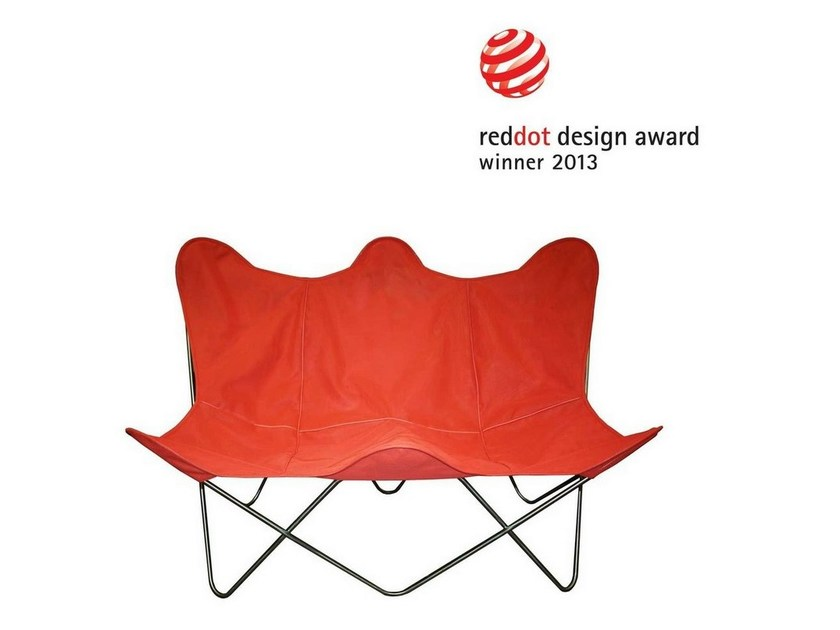 Design Batyline® garden armchair BUTTERFLY TWIN CHAIR OUTDOOR by Weinbaums