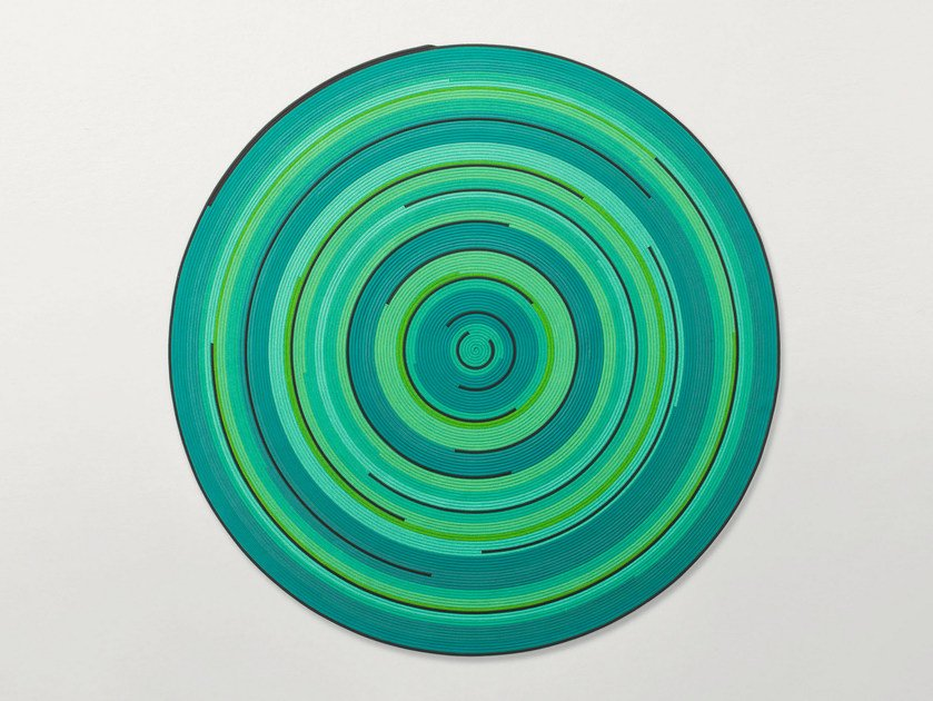 Round Outdoor Rugs Zoe Rev By Paola Lenti