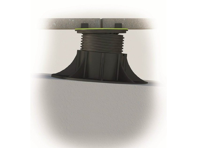Modular system for raised flooring SUPA by PROFILITEC