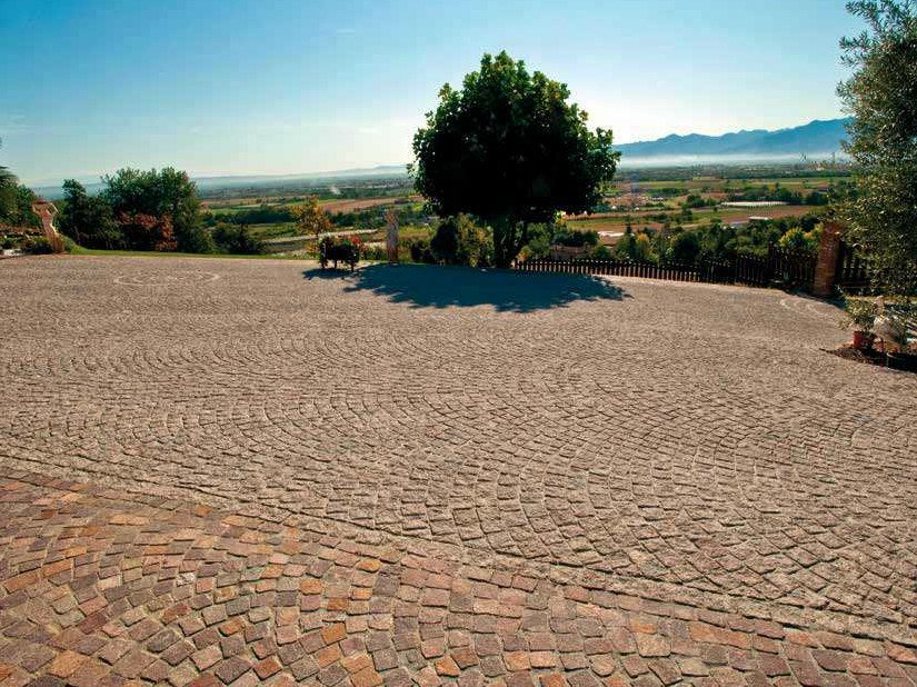 Paving block PORFIDBLOC® MISTO ITALIA by PAVESMAC