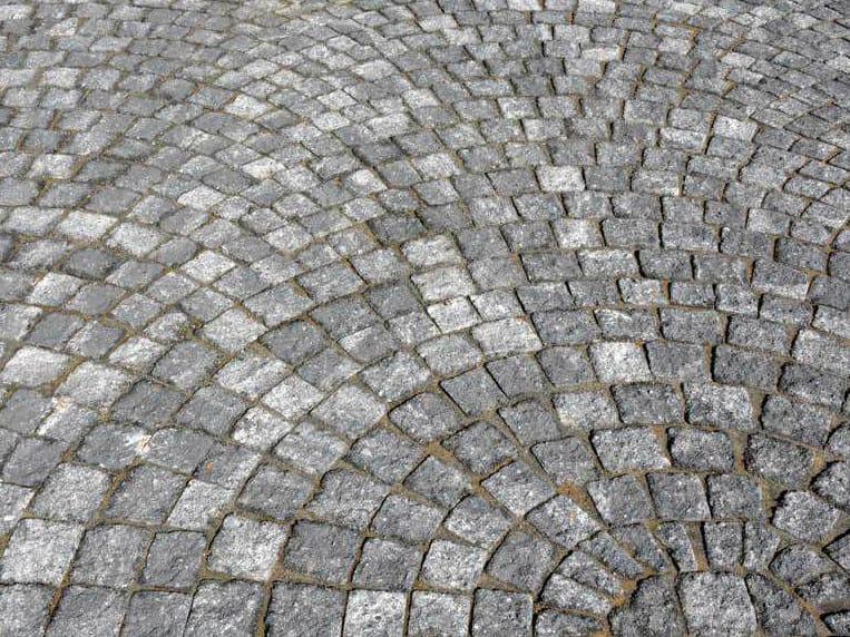 Paving block PORFIDBLOC® MIX BIANCO by PAVESMAC