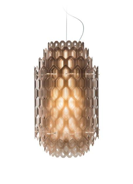 LED Cristalflex® pendant lamp CHANTAL by Slamp