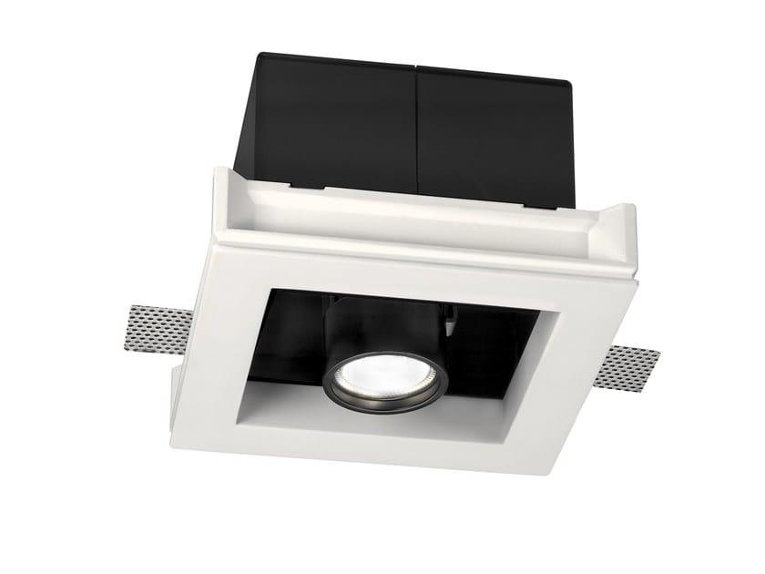 LED adjustable recessed spotlight BULL by Buzzi & Buzzi