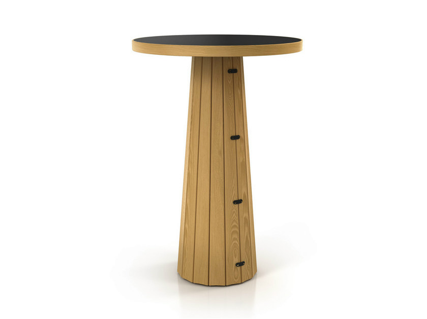 Round high table CONTAINER TABLE BODHI 10030 by moooi