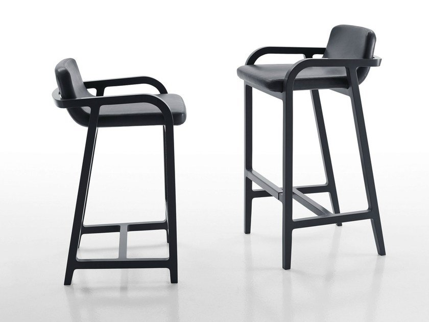 Leather chair FULGENS | Chair by Maxalto