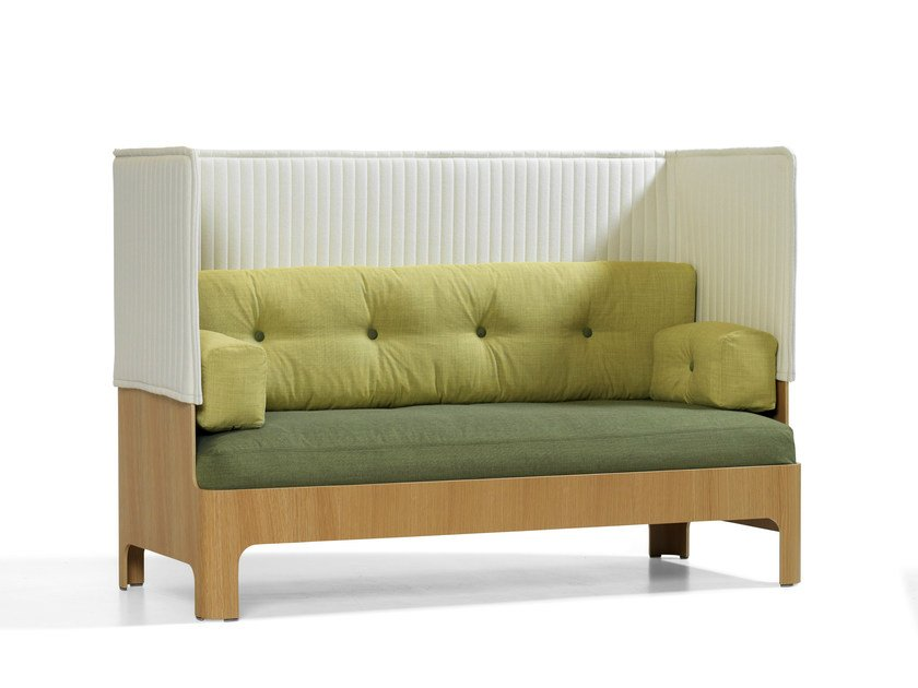 Koja Sofa Mit Hoher Ruckenlehne By Bla Station Design Fredrik Mattson