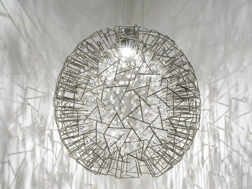 LED metal pendant lamp CORE by TERZANI