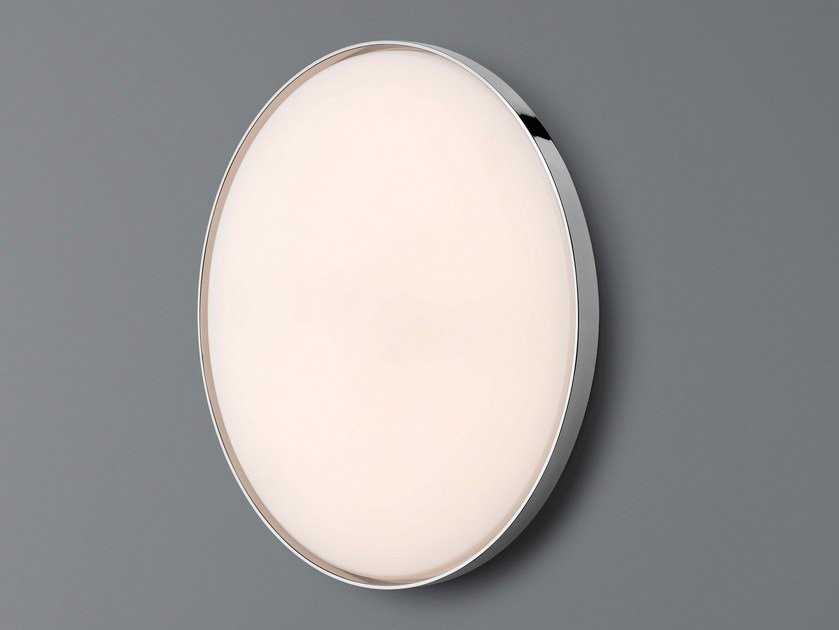 LED direct light wall light CLARA | Wall light by FLOS