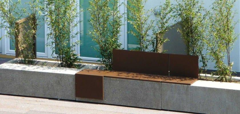 Mamu panchina modulare by metalco for Metalco arredo urbano