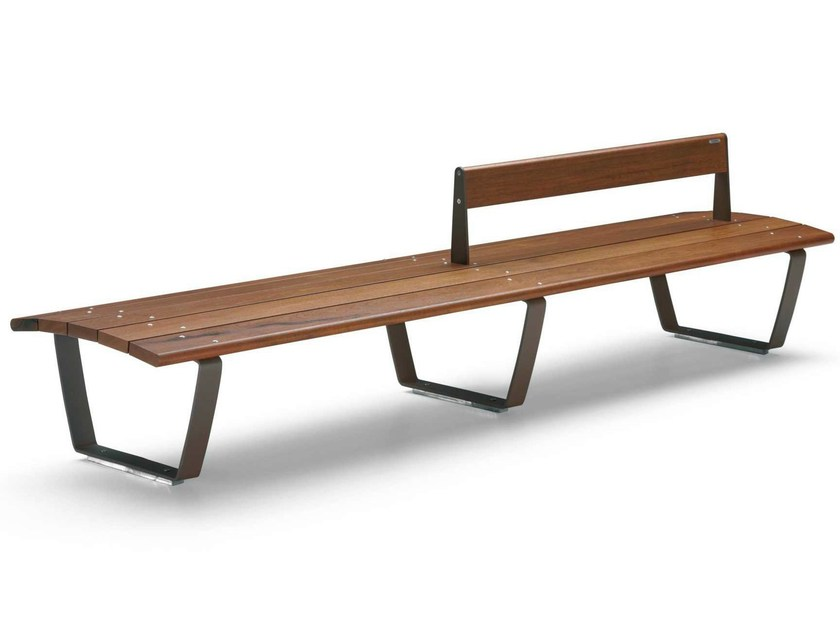 Wooden Bench NUVOLA | Bench by Metalco