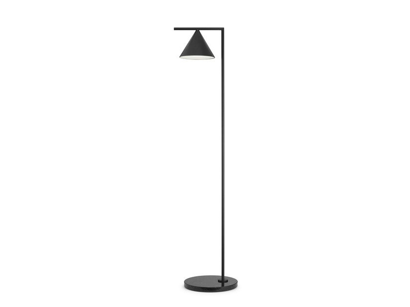 LED direct light aluminium reading lamp CAPTAIN FLINT | Aluminium reading lamp by FLOS