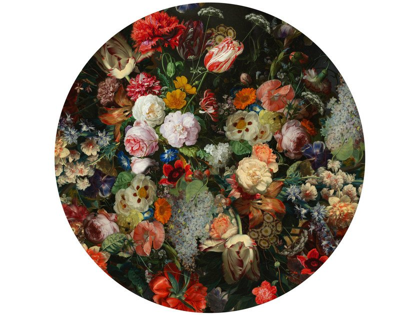 Round rug with floral pattern EDEN QUEEN by moooi