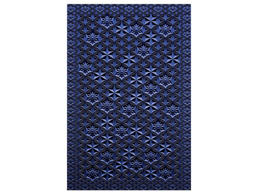 Patterned rectangular rug CRYSTAL ROSE by moooi