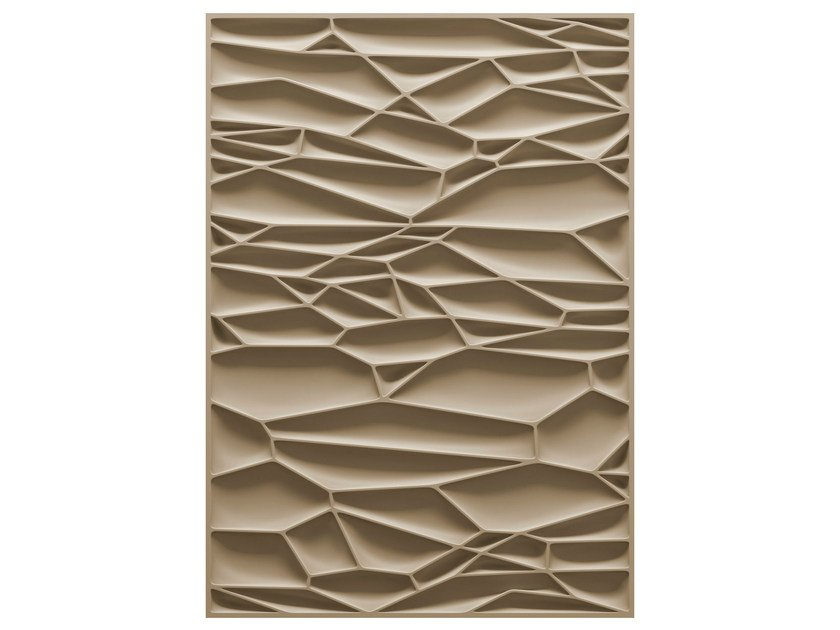 Patterned rectangular rug DRY by moooi