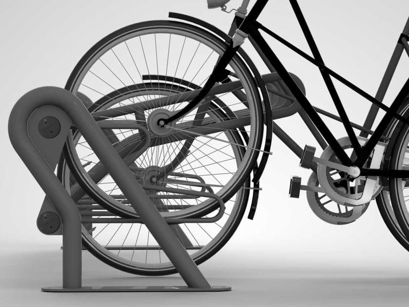 Steel Bicycle rack DUCK by Metalco