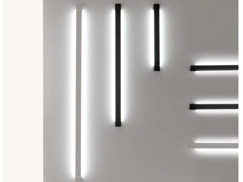 Indirect light aluminium wall light PIVOT | Wall light by Fabbian