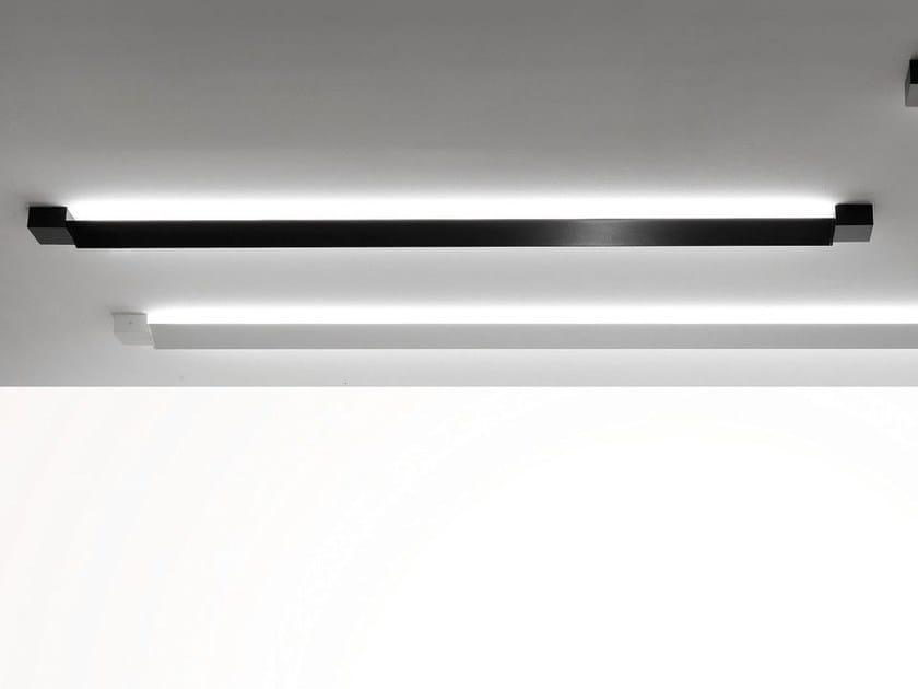 Indirect light aluminium ceiling lamp PIVOT | Ceiling lamp by Fabbian