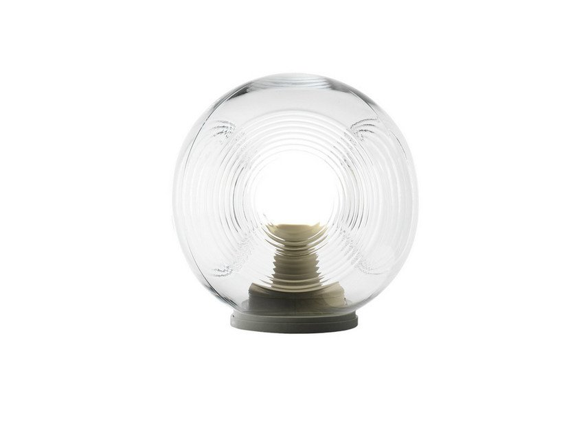 Fluorescent blown glass table lamp EYES | Table lamp by Fabbian