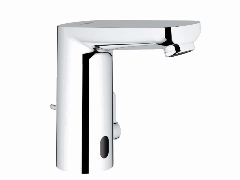 Infrared electronic washbasin mixer EUROSMART COSMOPOLITAN E + POWERBOX by Grohe