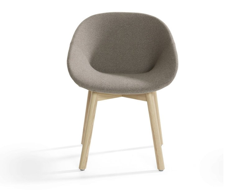 Upholstered fabric chair BESO | Upholstered chair by Artifort