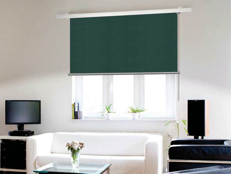 Fabric roller blind LAYLIGHT® LINEO DRITTO by RESSTENDE
