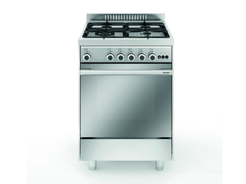 Steel cooker M664VI | Cooker by Glem Gas
